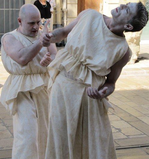 3 Illusion Statues vivantes en ville martigues 27 09 2014 080
